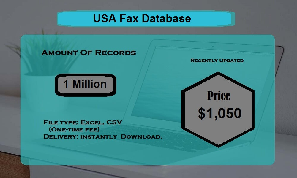 USA Fax Database