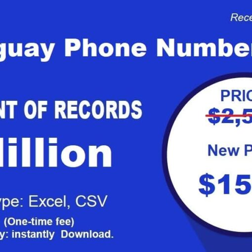 Paraguay Phone Number List